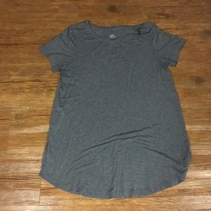 Aerie tunic top size L in grey
